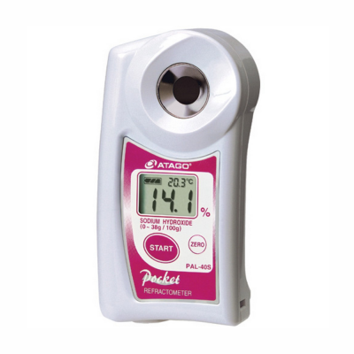 Refratómetro Digital para Hidróxido de Sódio Modelo PAL-40S Marca Atago