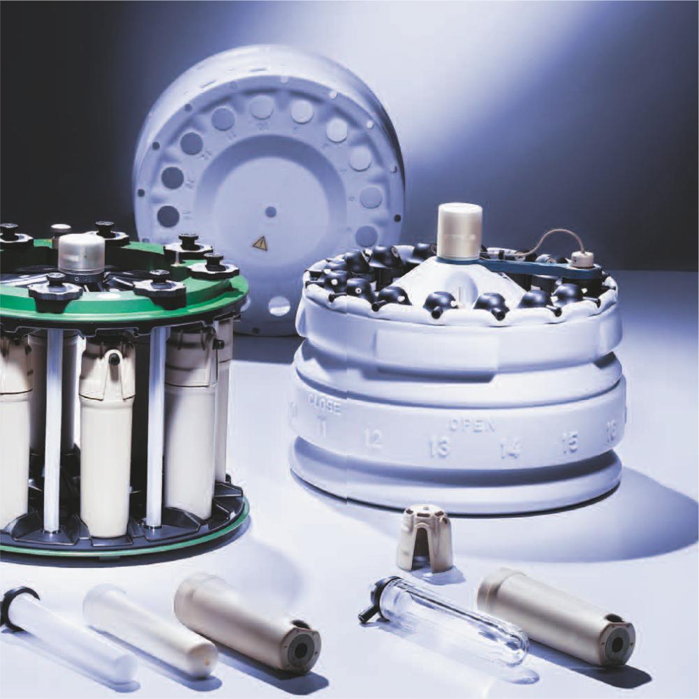 Rotores de Digestão2, Anton-Paar