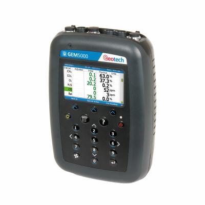 analizador de biogás Portátil Modelo GEM5000 Marca Geotech
