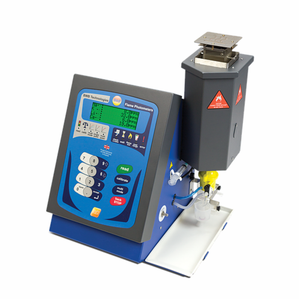 The BWB SYN FUELS Flame Photometer