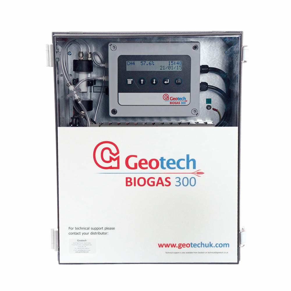Analisador de Biogás Modelo GBIOGAS 300 Marca Geotech