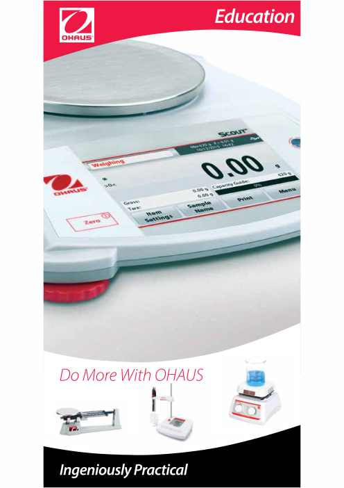 OHAUS Education Product