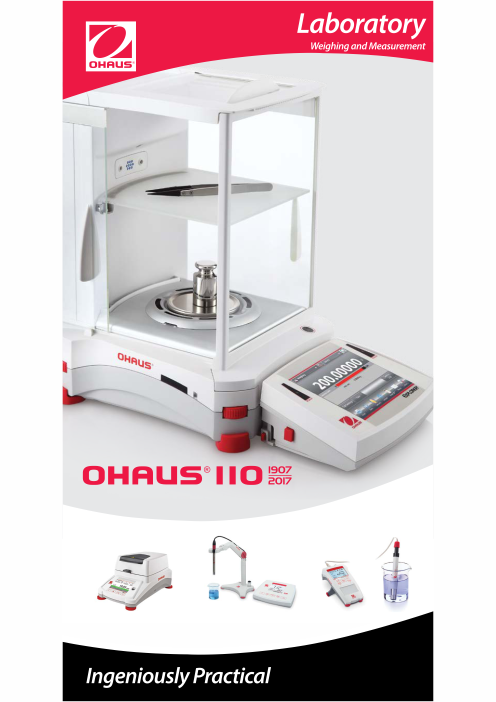 OHAUS Laboratory Weighing and Electrochemistry