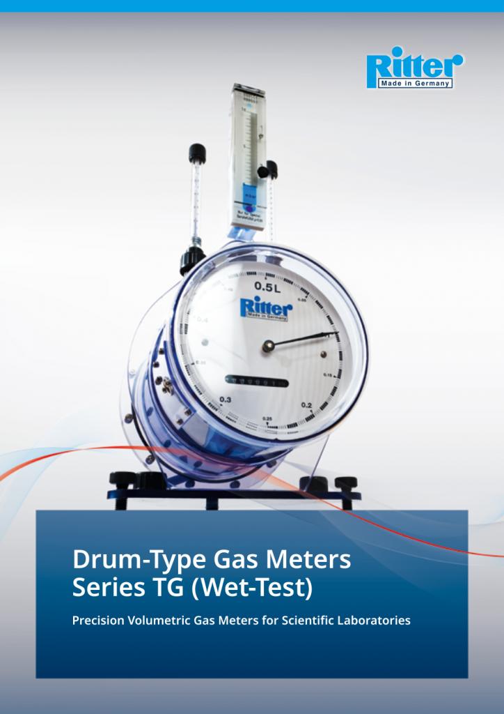 Ritter drum-type-gas-meters