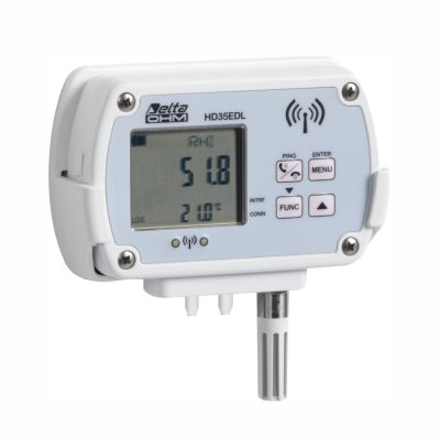 Data Logger Wireless Modelo HD35 Marca DeltaOHM