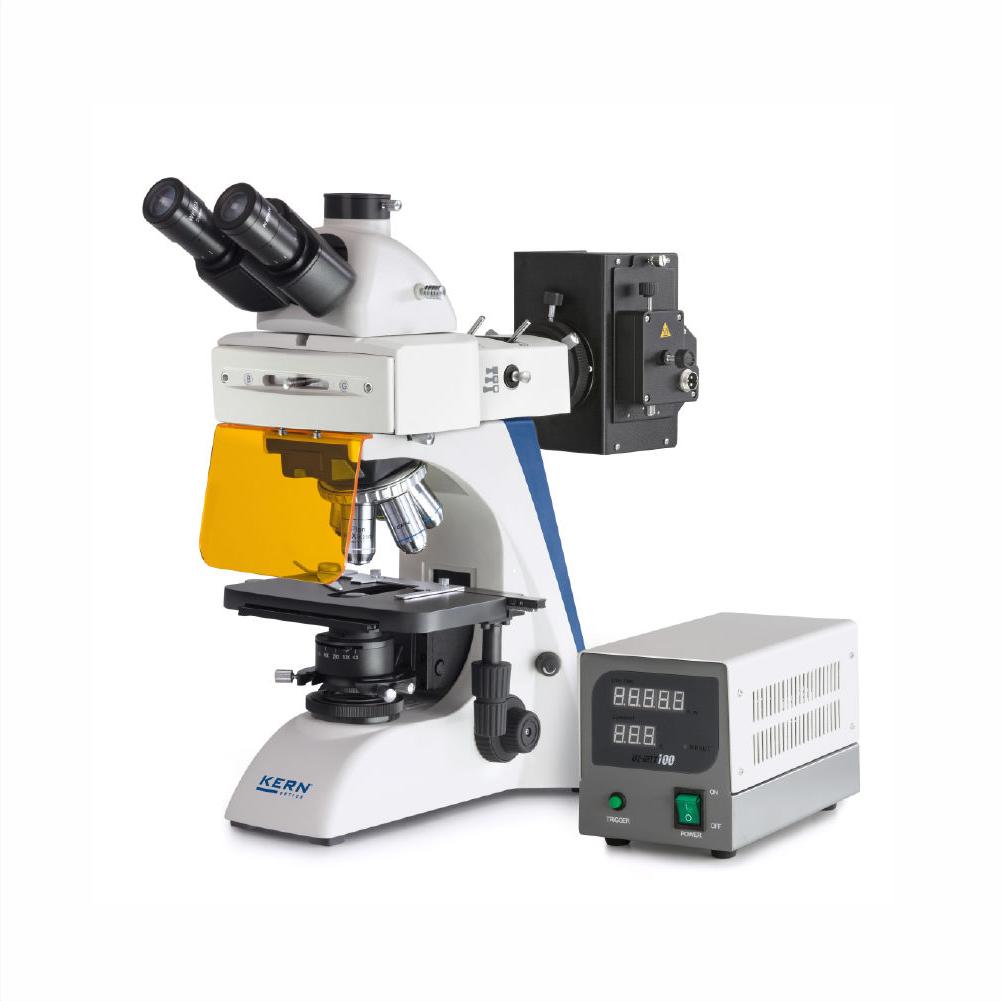 Kern Microscópio de luz transmitida OBN-14
