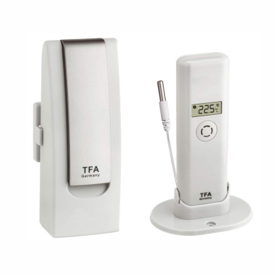 WEATHERHUB temperature monitor for Smartphones