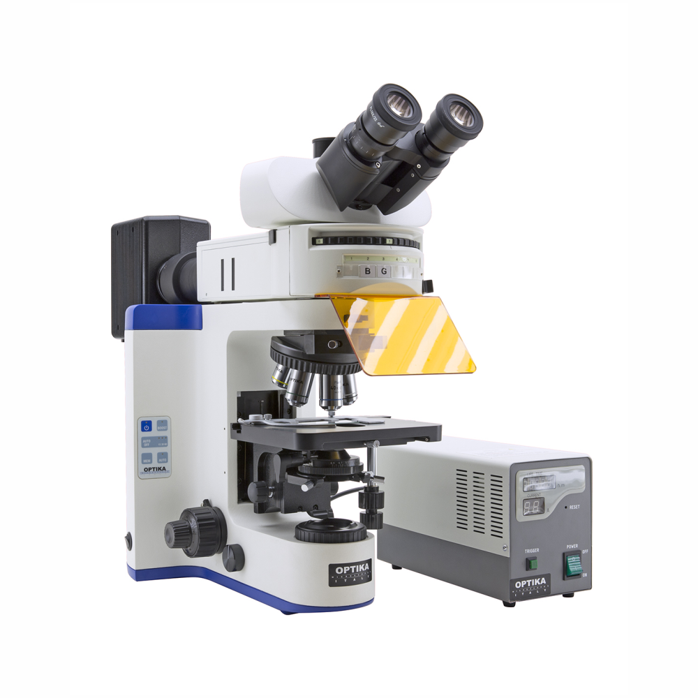 Fluorescence microscope, Optika B-1000FL