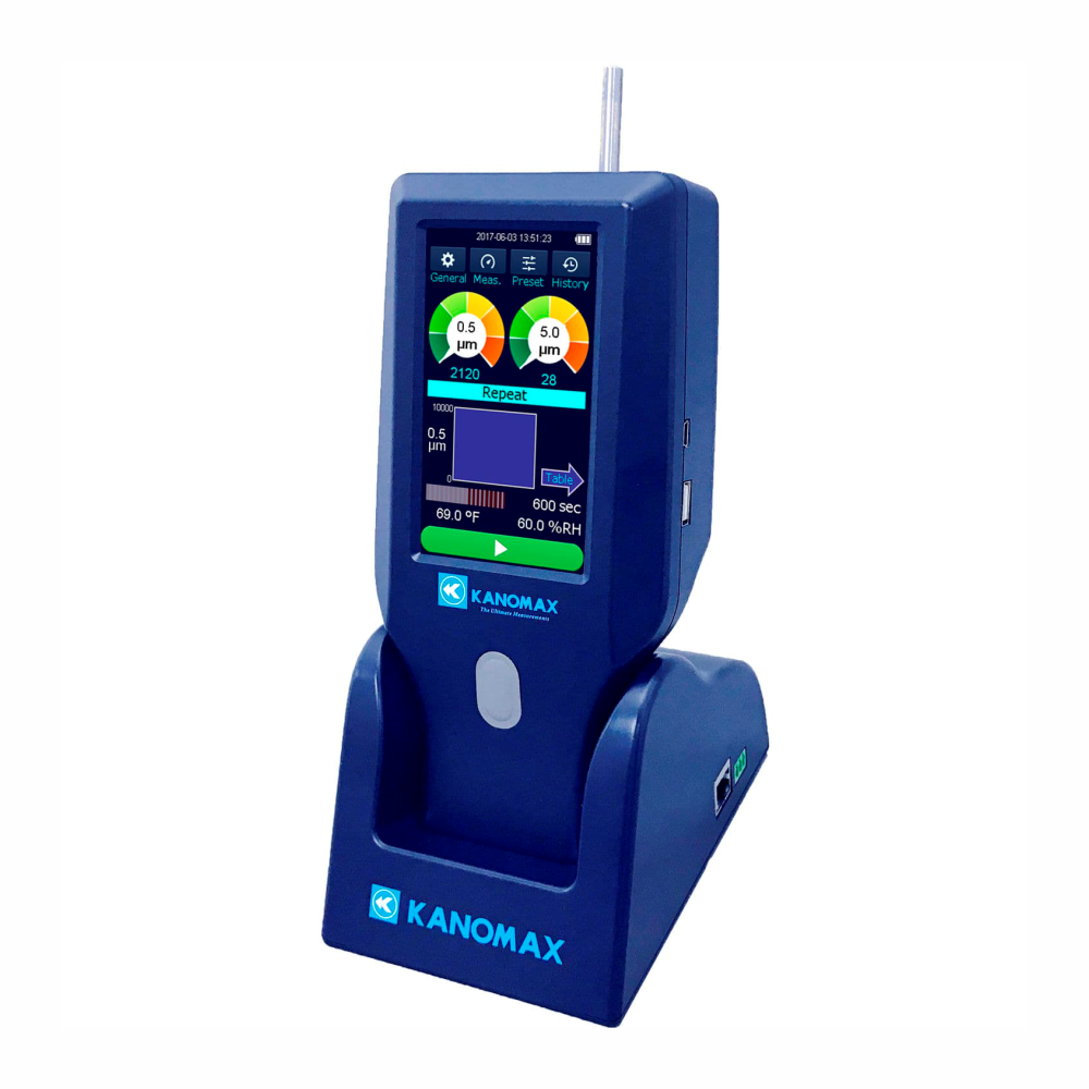 Kanomax Particle counter - 3888-3889