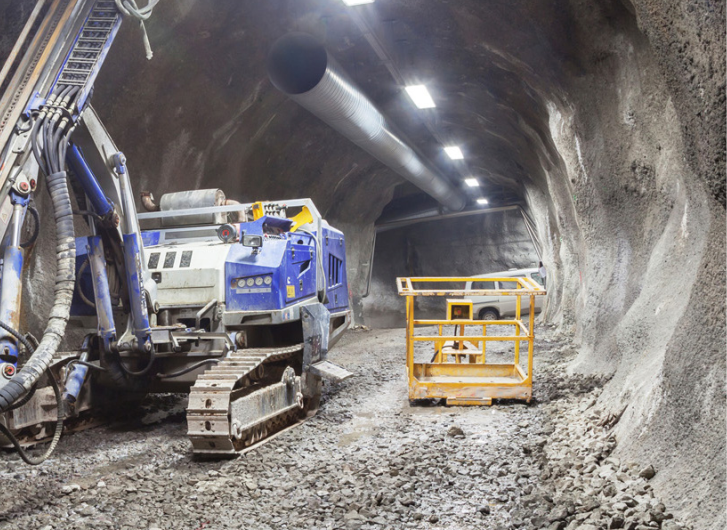 TUNNELLING AND MINING