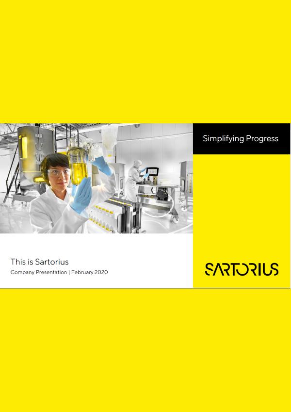 Sartorius catalogue